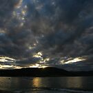 waubs bay dusk. bicheno, tasmania by tim buckley | bodhiimages