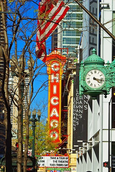 Chicago Theatre by TeaCee