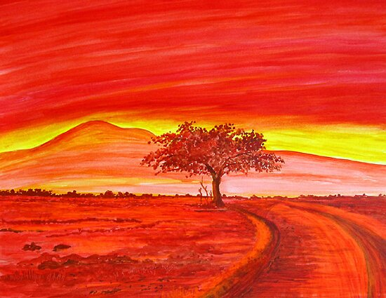 The Good Red Earth by Sesha