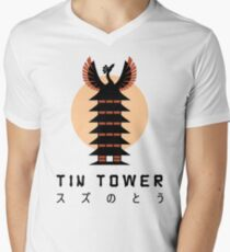Tin Tower Men's V-Neck T-Shirt