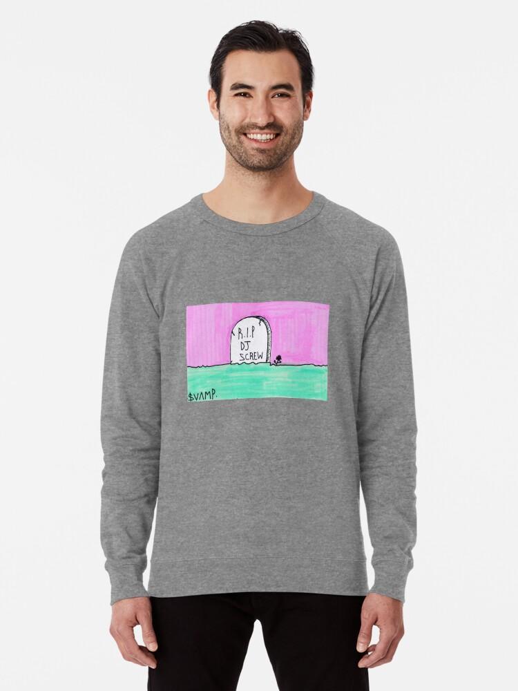 'R I P DJ SCREW' Lightweight Sweatshirt by svampwolf