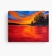 Sunset Glory Canvas Print