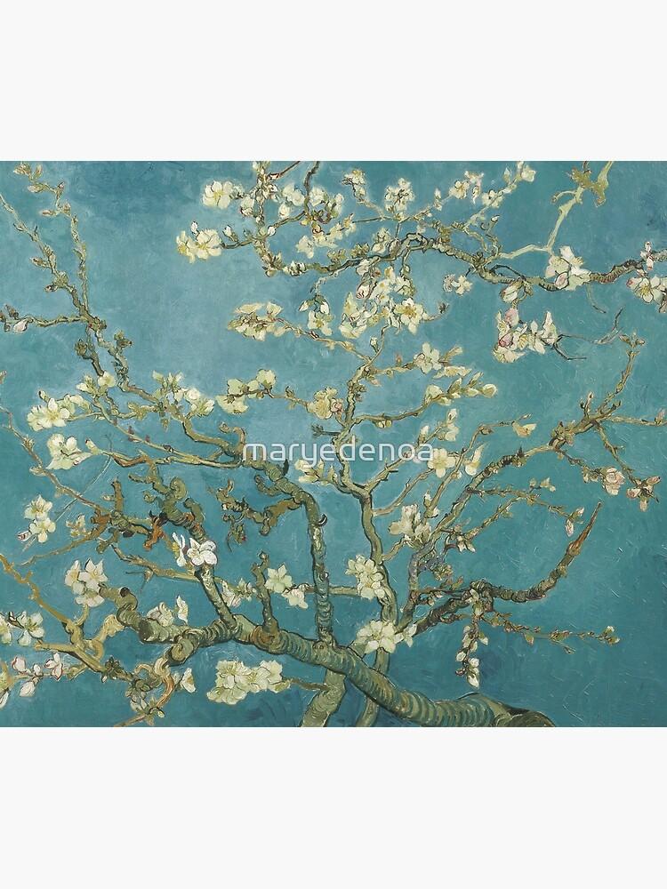 Almond Blossom - Vincent Van Gogh by maryedenoa