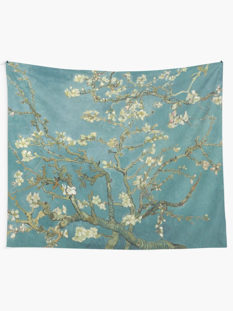 Alternate view of Almond Blossom - Vincent Van Gogh Tapestry