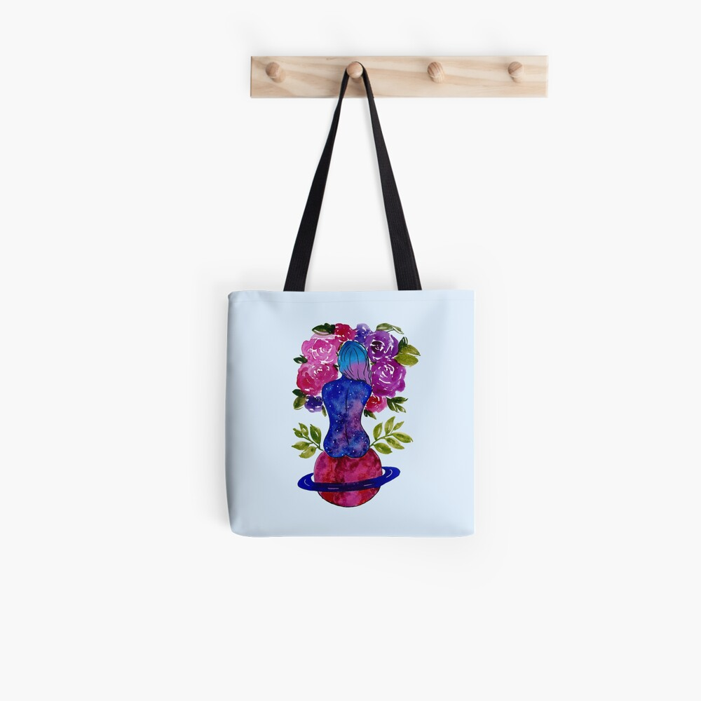 Lady Saturn  Tote Bag