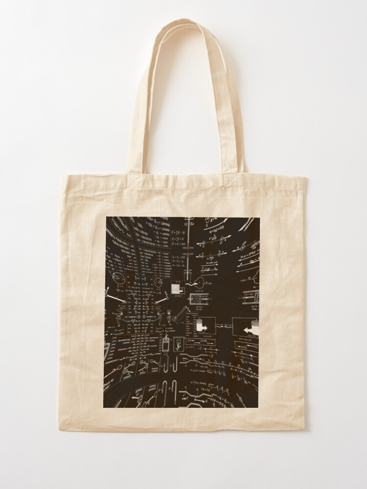 Alternate view of General Physics College Course PHY110, #GeneralPhysics #CollegeCourse #PHY110 #Physics  Tote Bag