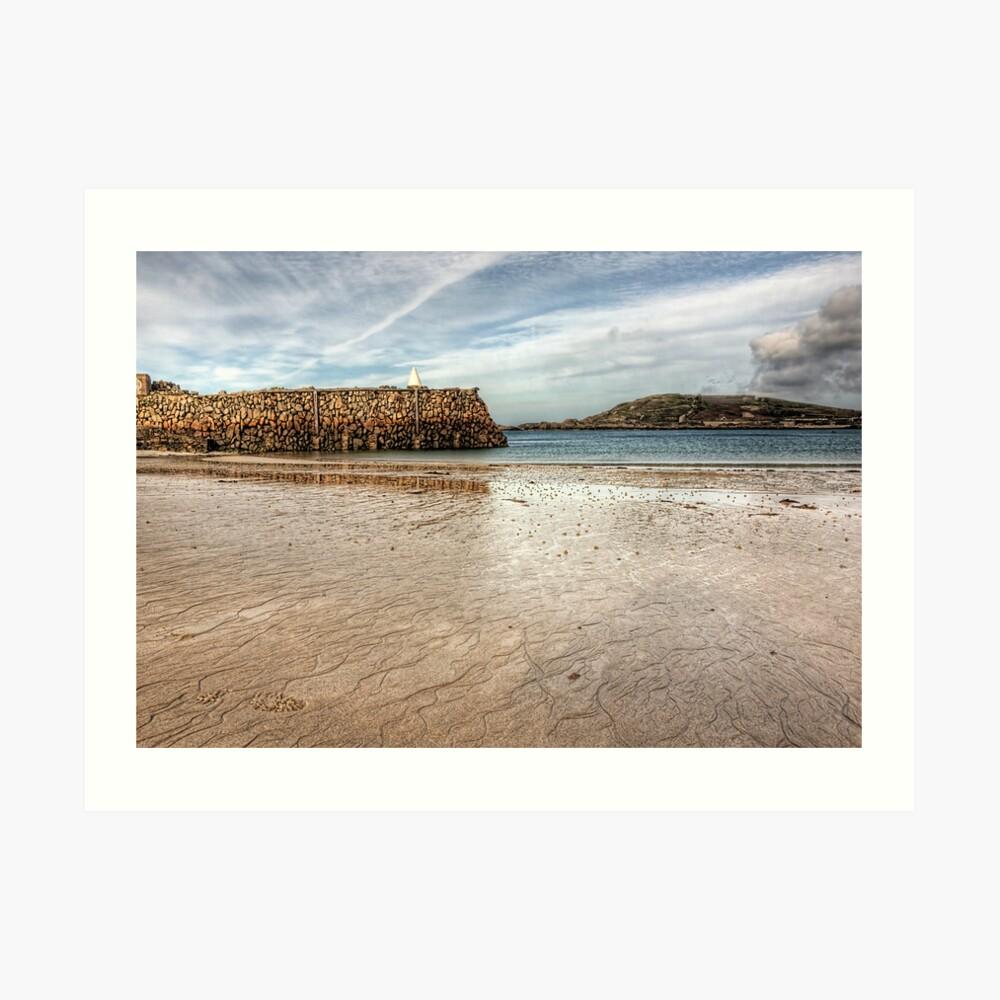 Douglas Quay Alderney - Another view Art Print