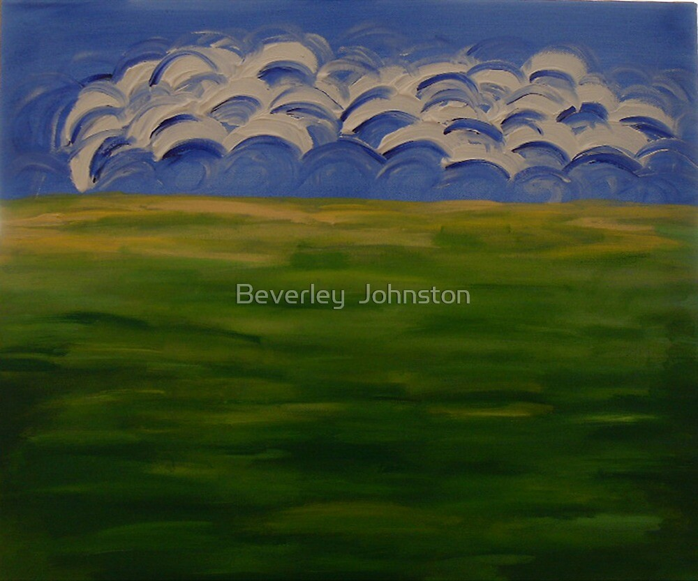 Green Green Grass of Home by Beverley  Johnston
