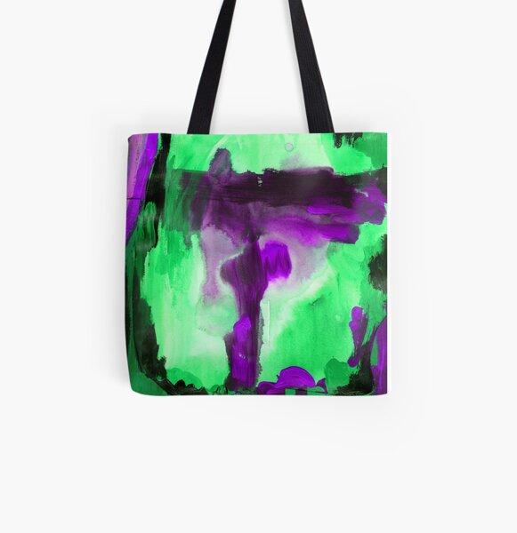 Purple Paint Ripples Therapist Bag