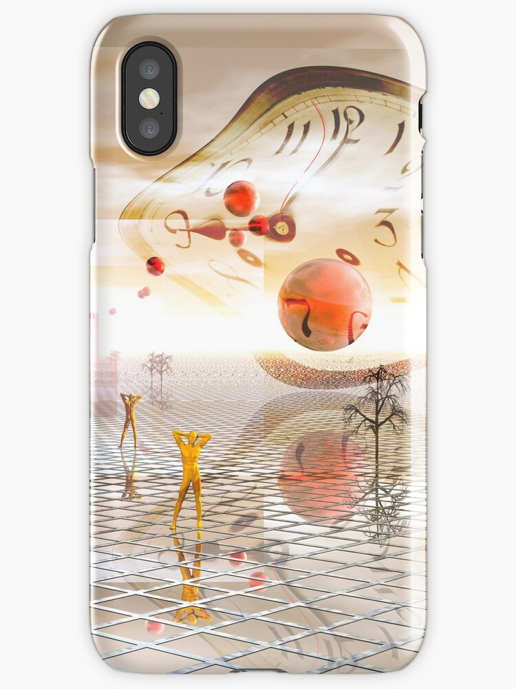 Reflections on reality iphone case by Carol and Mike Werner