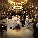 Doctor - Surgeon - Standing room only 1902 by Michael Savad