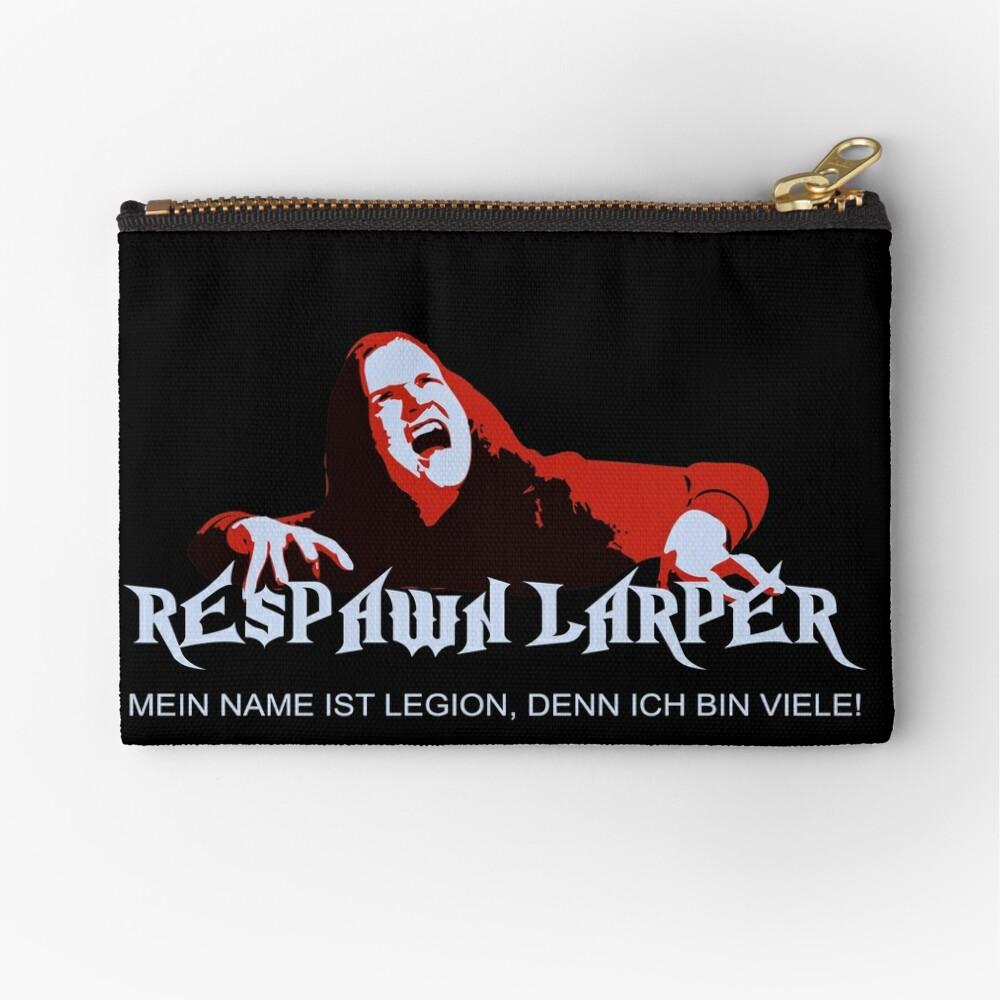 RespawnLARPer - My name is Legion Zipper Pouch