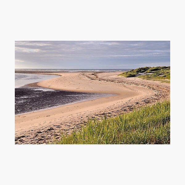 Budle Bay - Northumberland Photographic Print