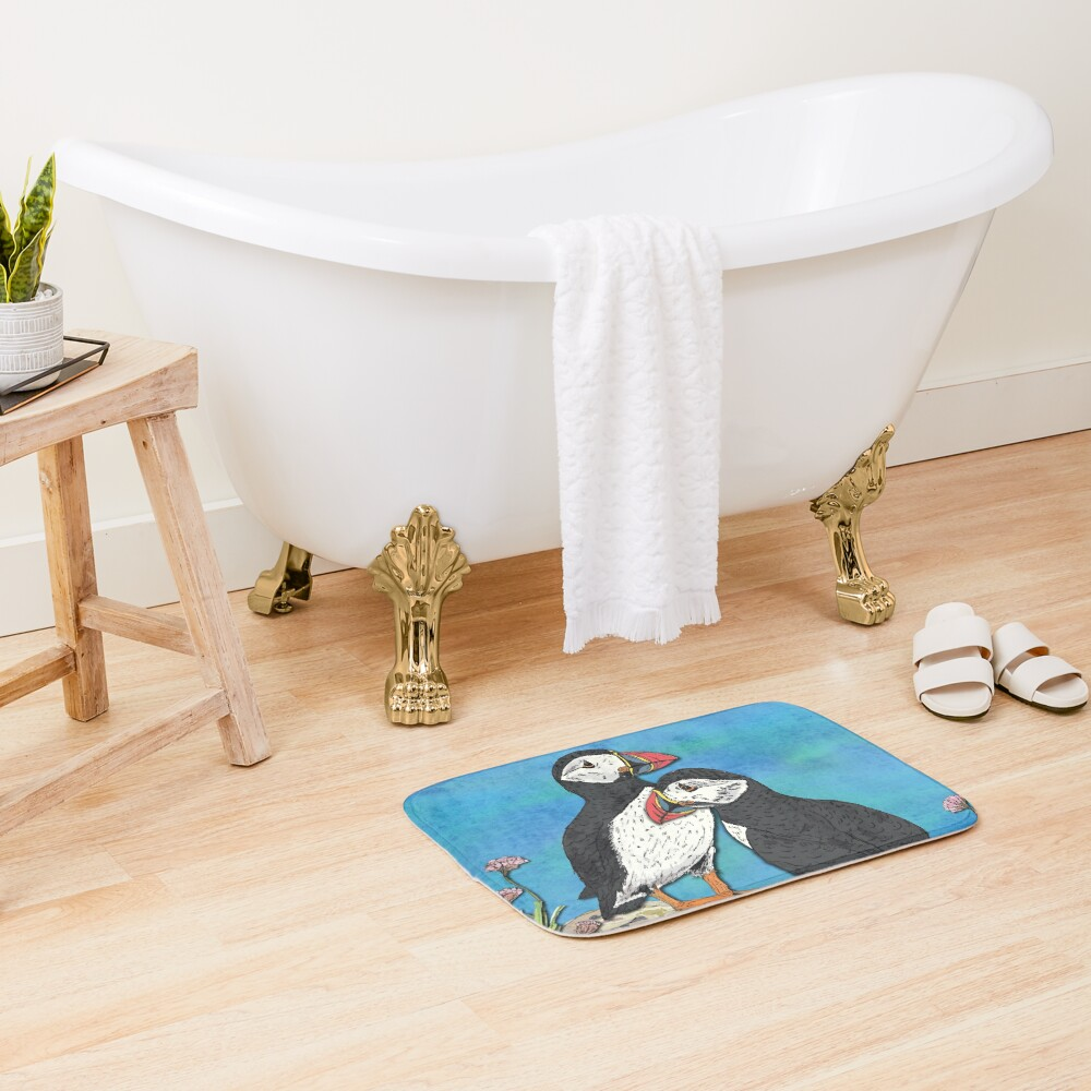 Puffin Perfection Bath Mat