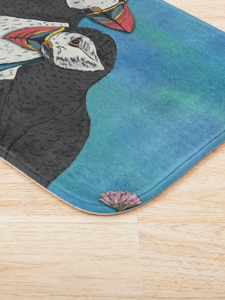 Alternate view of Puffin Perfection Bath Mat