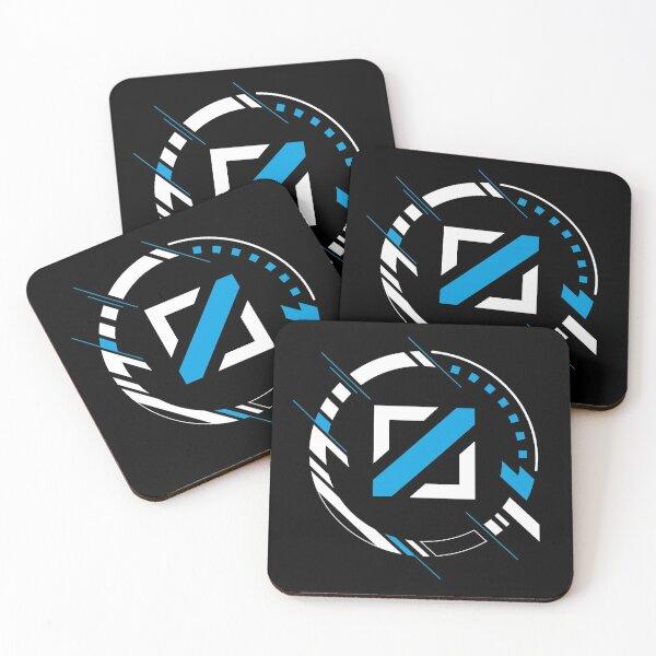 LoL Mid Lane Gamer Icon Coasters (Set of 4)