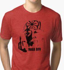 Miyagi Wax Off Shirt Tri-blend T-Shirt