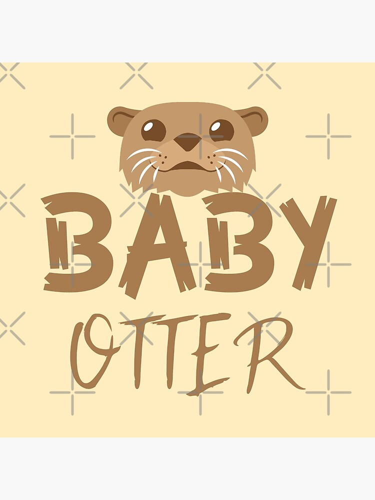 BABY OTTER (with matching Mama Otter and Papa Otter) by jazzydevil
