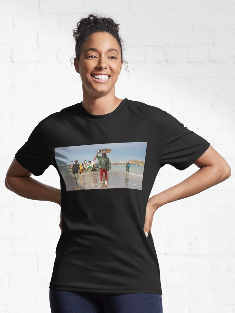 Alternate view of Back Fishing Day Active T-Shirt