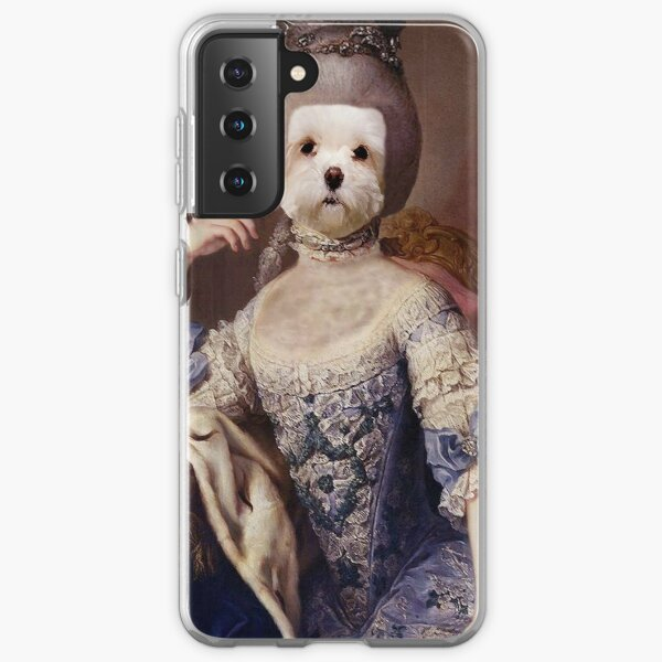 French Poodle Queen Samsung Galaxy Soft Case