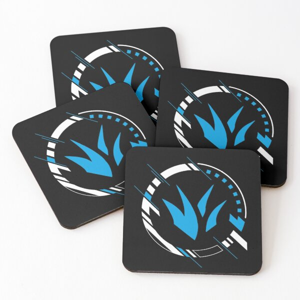 LoL Jungler Gamer Icon Coasters (Set of 4)