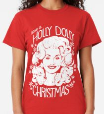 Holy Christmas Dolly Classic T-Shirt