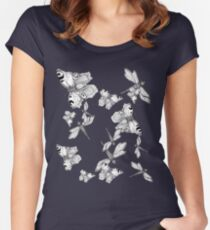 Dragonfly and butterfly - faith and truth Fitted Scoop T-Shirt