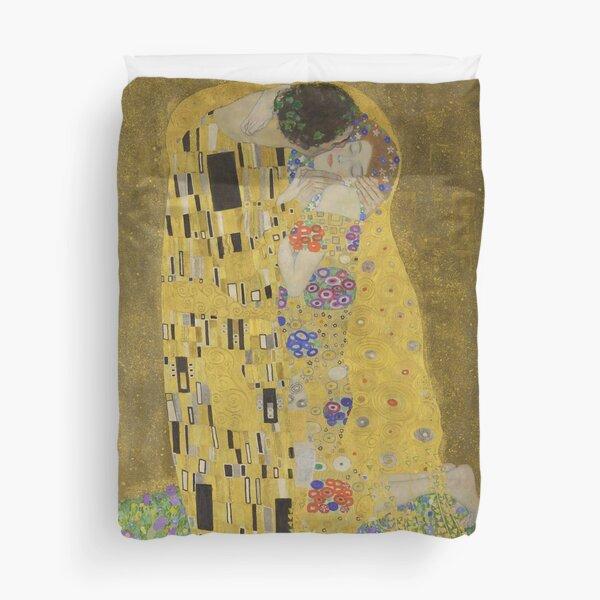 The Kiss - Gustav Klimt  Duvet Cover