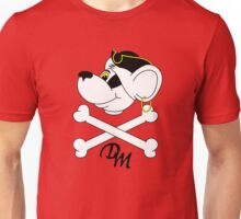 Pirate Danger Mouse. Unisex T-Shirt
