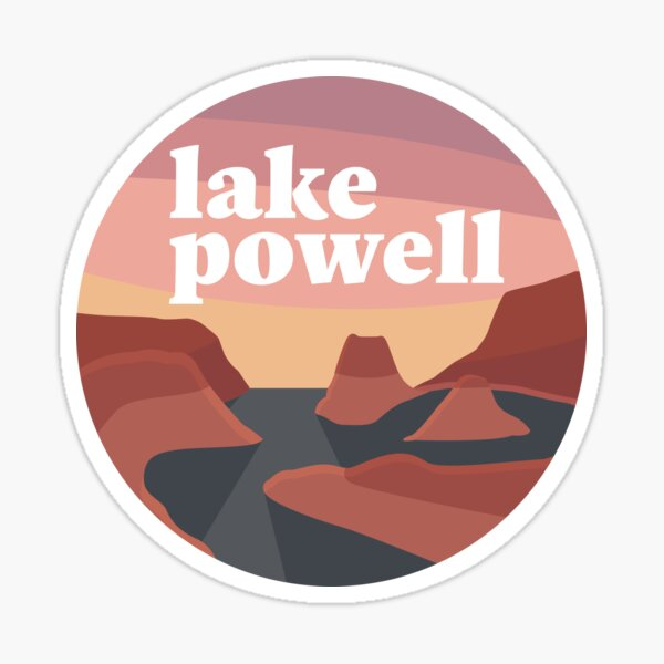 Lake Powell Sunrise Sticker