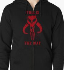 This is the Way Zipped Hoodie