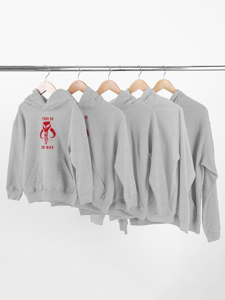Alternate view of This is the Way Kids Pullover Hoodie