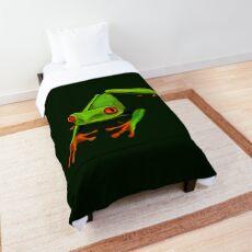 Happy Little Tree Frog Comforter