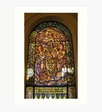 Rejoice and Be Exceedingly Glad Art Print