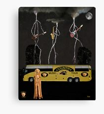 Country Scream Band Canvas Print