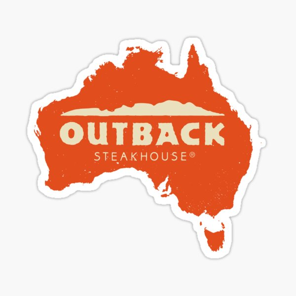 Outback Steakhouse  Sticker