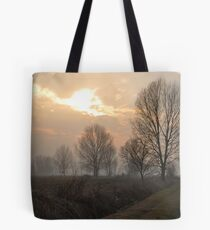 Winter Trees in the Crepuscle Tote Bag