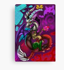 Discord Rise of Chaos Canvas Print