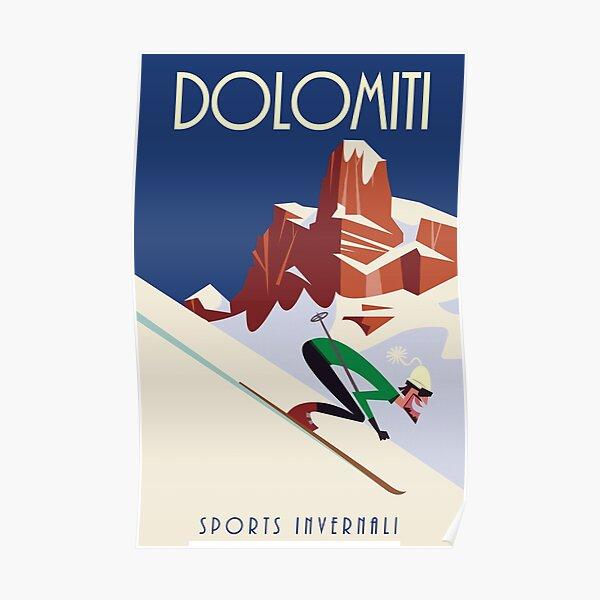 Dolomites poster Poster