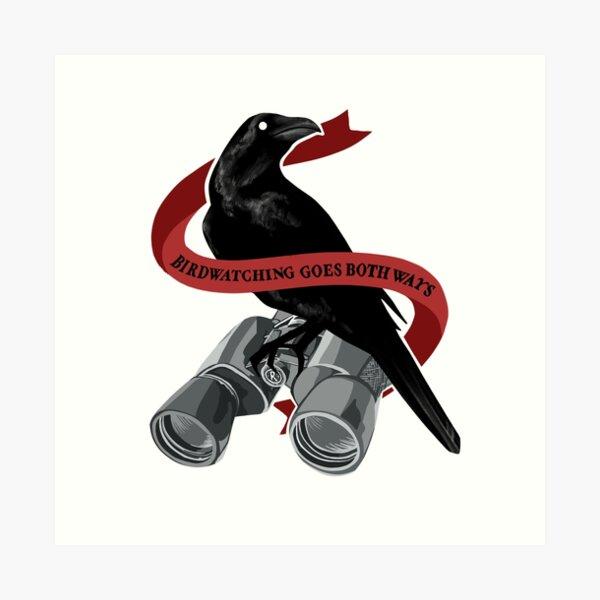 Birdwatching Goes Both Ways Art Print