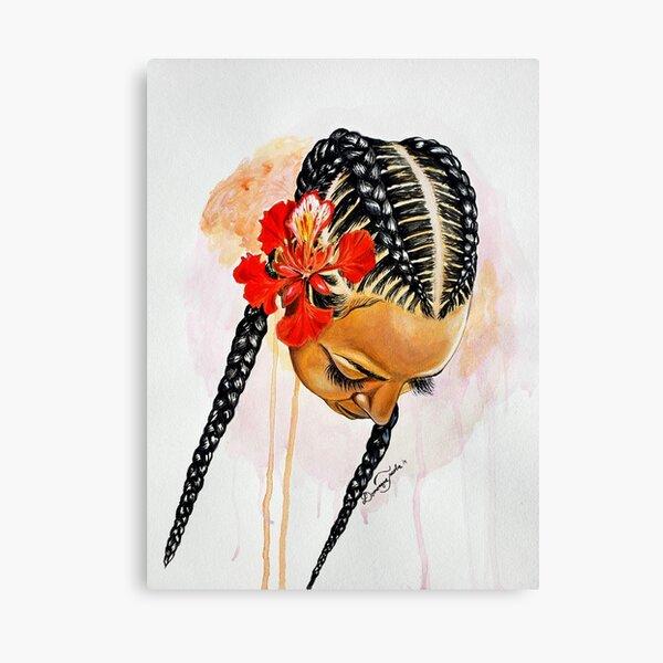 She Deserves Flowers Canvas Print