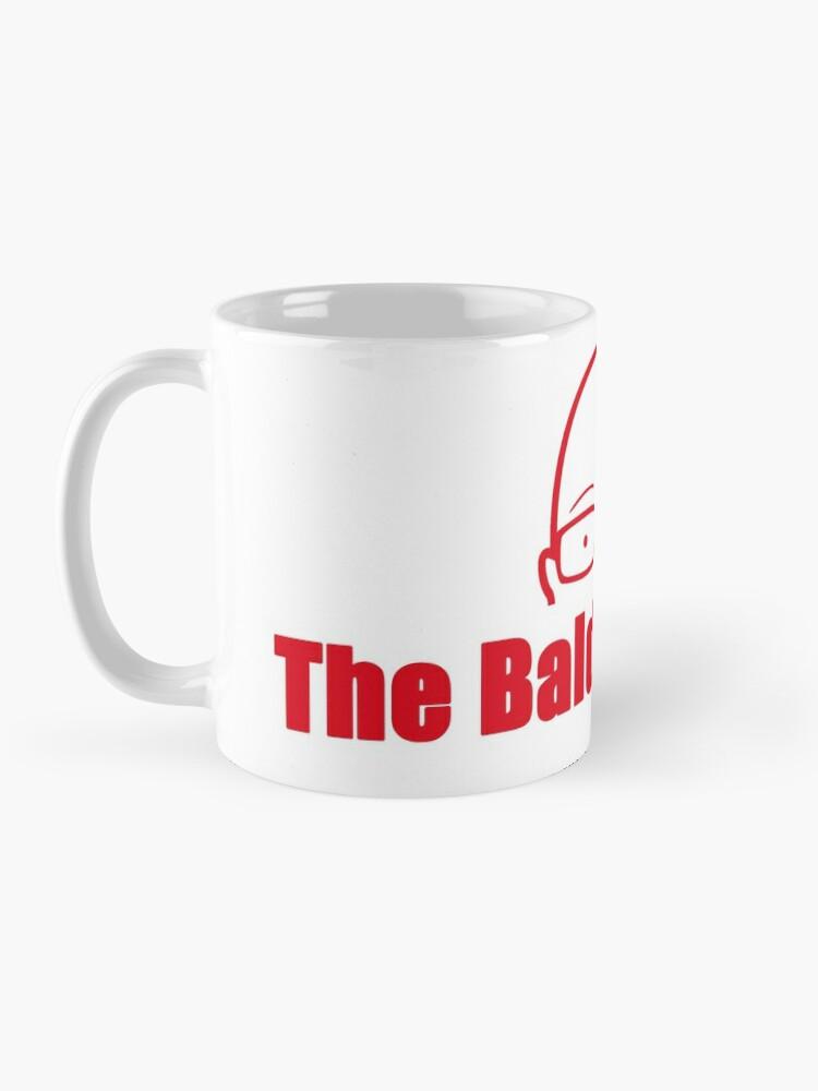 Alternate view of BE Red  Mug