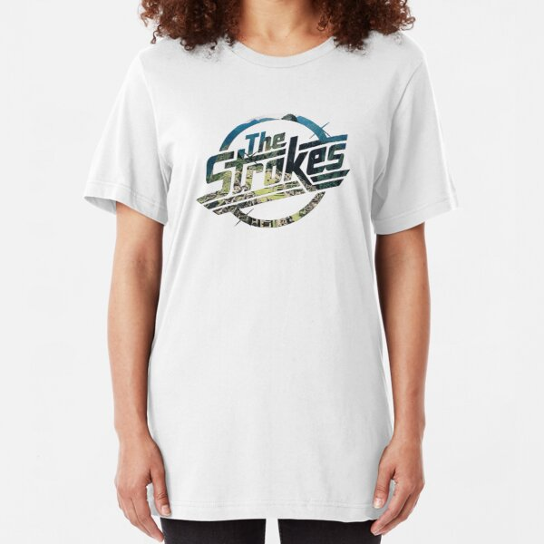 The Strokes Logo Musical Slim Fit T-Shirt
