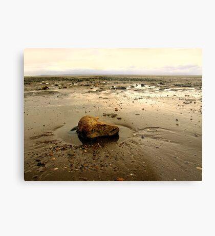Sand Bay Metal Print