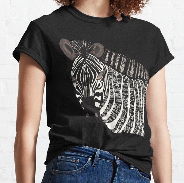 The Velveteen Zebra Classic T-Shirt