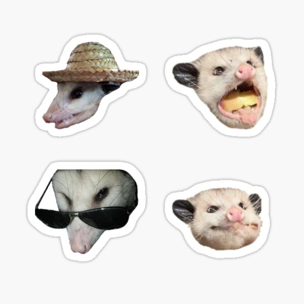 Oppossums Sticker