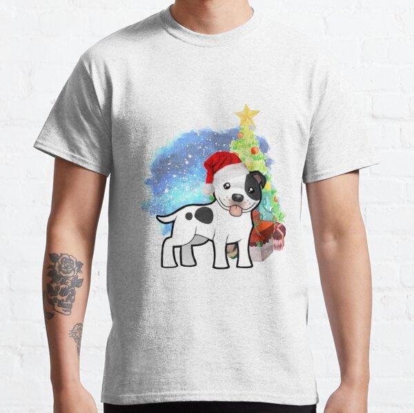 A Staffy Christmas Classic T-Shirt