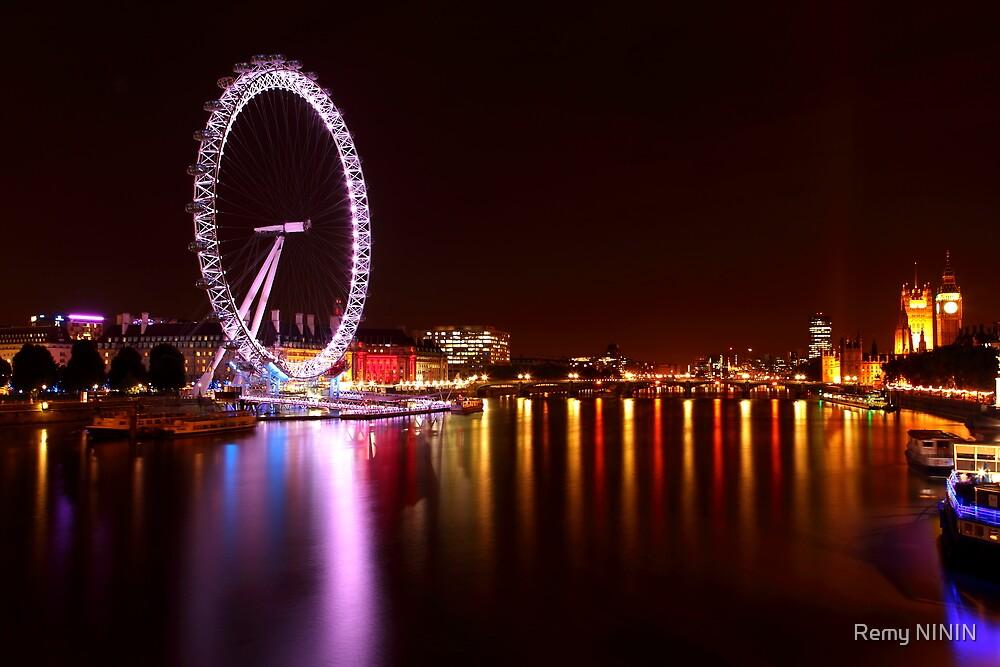 London Eye I by remos