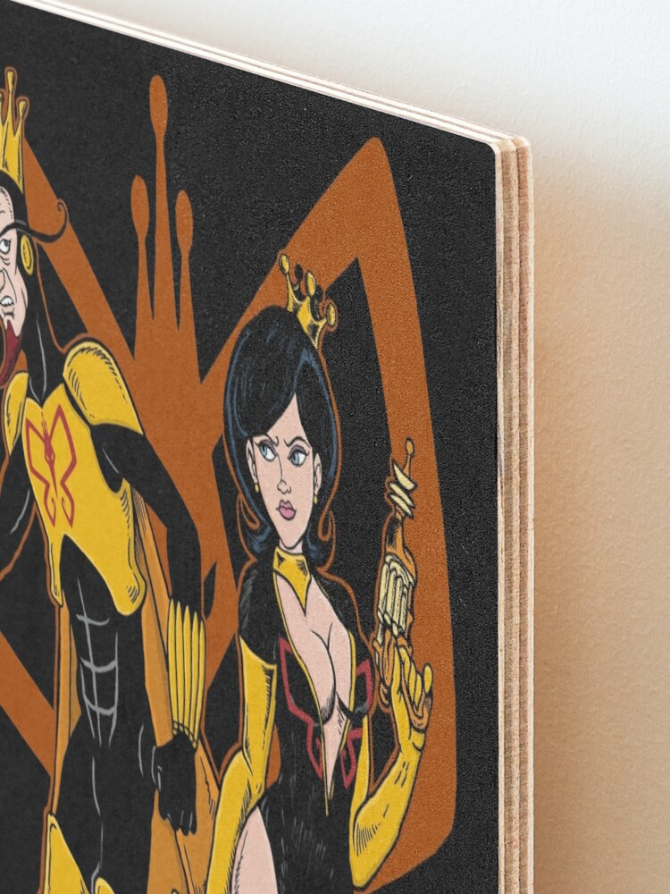 Alternate view of Beware the Monarch! Mounted Print