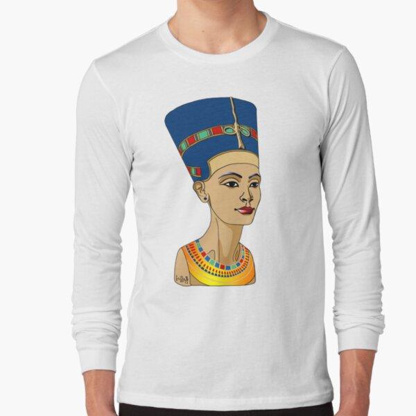 NOFRETETE I Königin von Ägypten  Langarmshirt